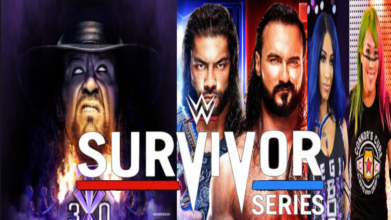 WWE Survivor Series 2020 Live Fight, Highlights, Facebook, Youtube, Update TV
