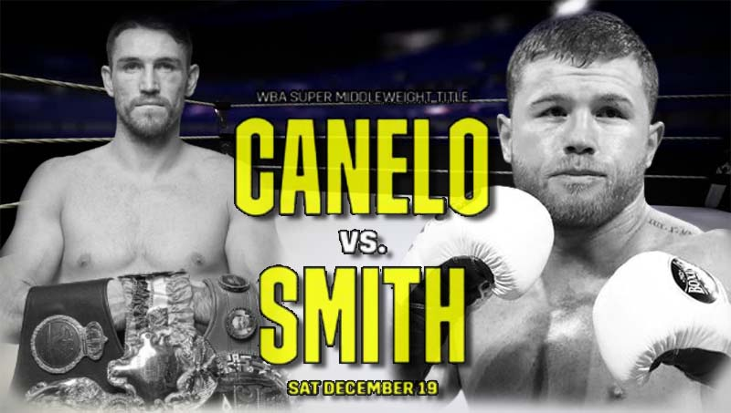Canelo vs Smith Live Stream, DAZN PPV Boxing, Reddit, Watch, HD TV