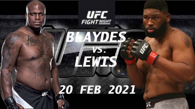 Blaydes vs Lewis Live, How to Watch UFC Vegas 19 Live, Online HD TV