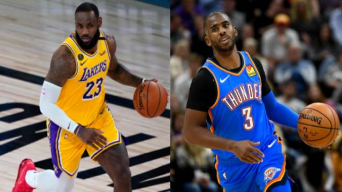 Lakers vs Thunder Live, How To Watch NBA, TV Channel, Start Time