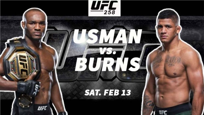 Usman vs Burns Live, How to Watch UFC 258 Live Fight, Online HD TV