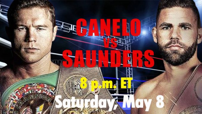 Canelo vs Joe Saunders Live, How To Watch, DAZN Boxing, HD TV