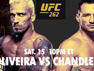Oliveira vs Chandler Live, How to Watch UFC 262 Fight, Online TV