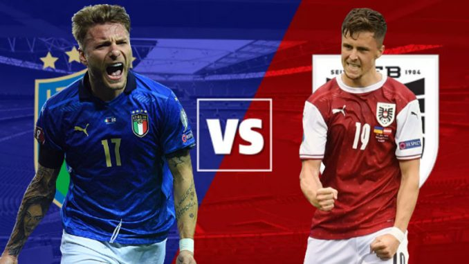Italy vs Austria Live, How To Watch, Euro Cup, Online TV