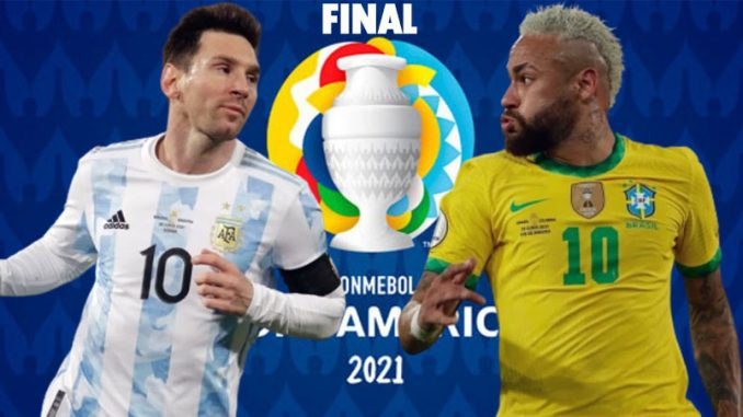 Brazil vs Argentina Live, How To Watch, Copa America Final, Online TV