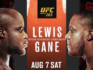 Lewis vs Gane Live, How to Watch UFC 265 Fight, Online TV
