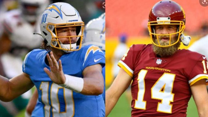 Chargers vs Football Team Live, How to Watch, NFL 2021, Online TV
