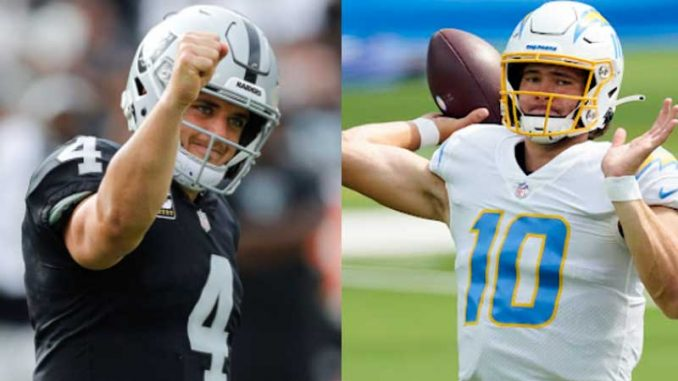 Raiders vs Chargers Live, How to Watch, NFL Week 4, Online TV